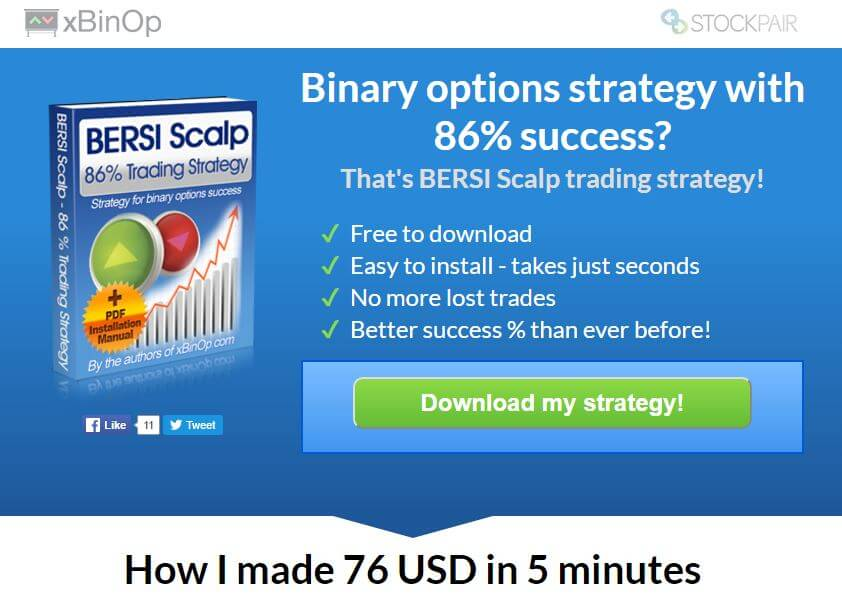 Binary options trading size strategy free