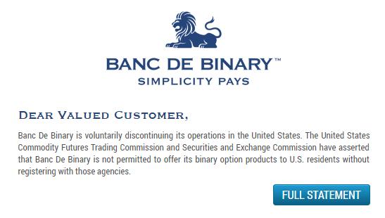BancDeBinary