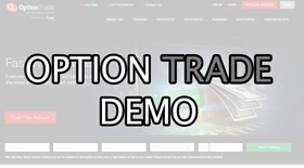optiontrade demo