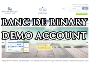 banc de binary demo konto