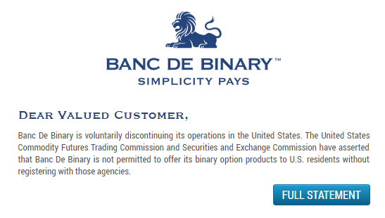 Binary options brokers located in usa