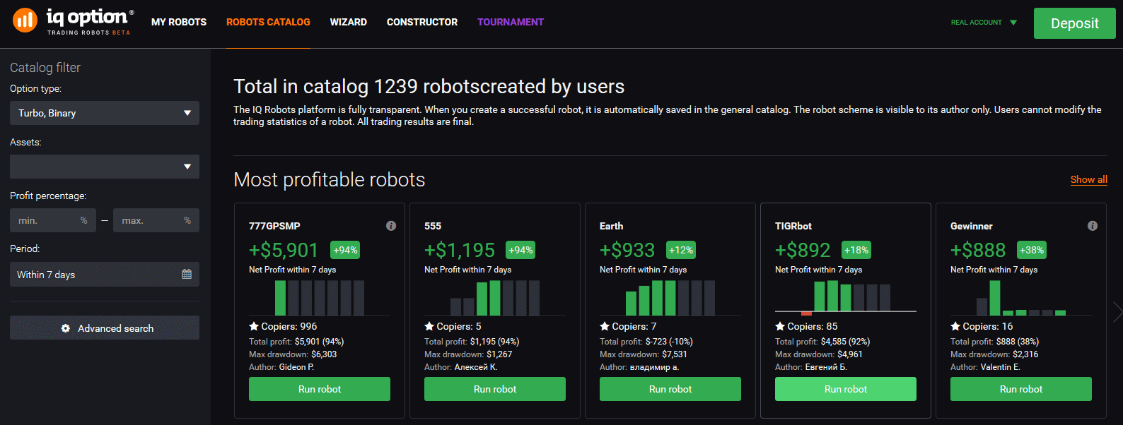 Binary option robot serial key