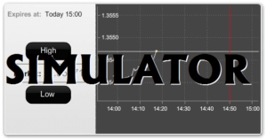 Binary options simulator