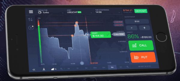 Binary option mobile trading