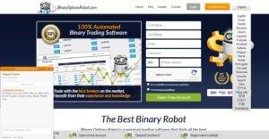 binary options robot homepage