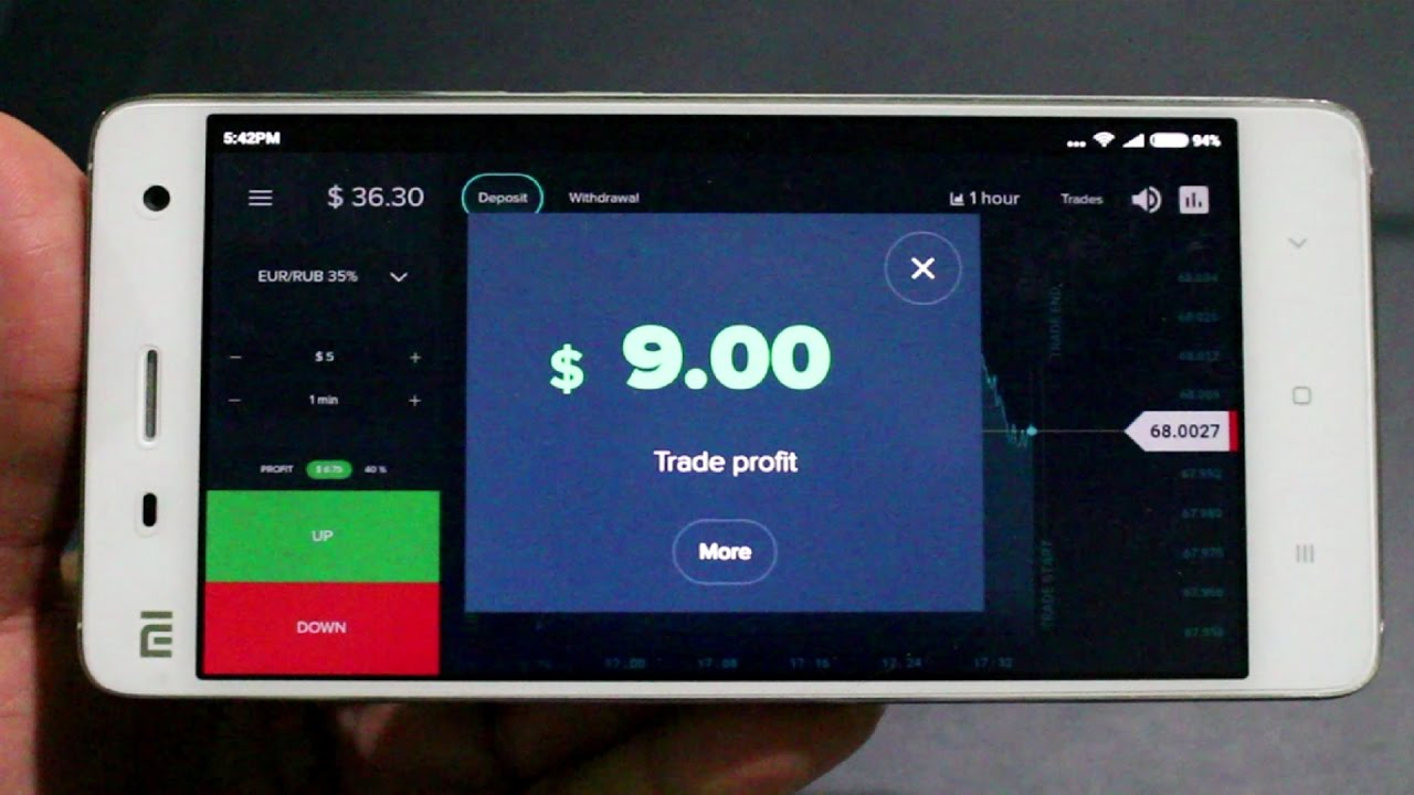 olymptrade mobile app