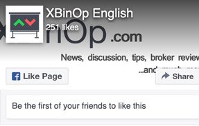 x Binary Options Facebook