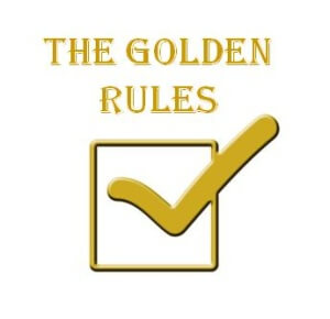 binary options golden rules