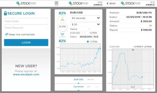 stockpair mobile app