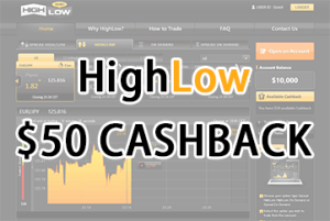 binary options high low bonus